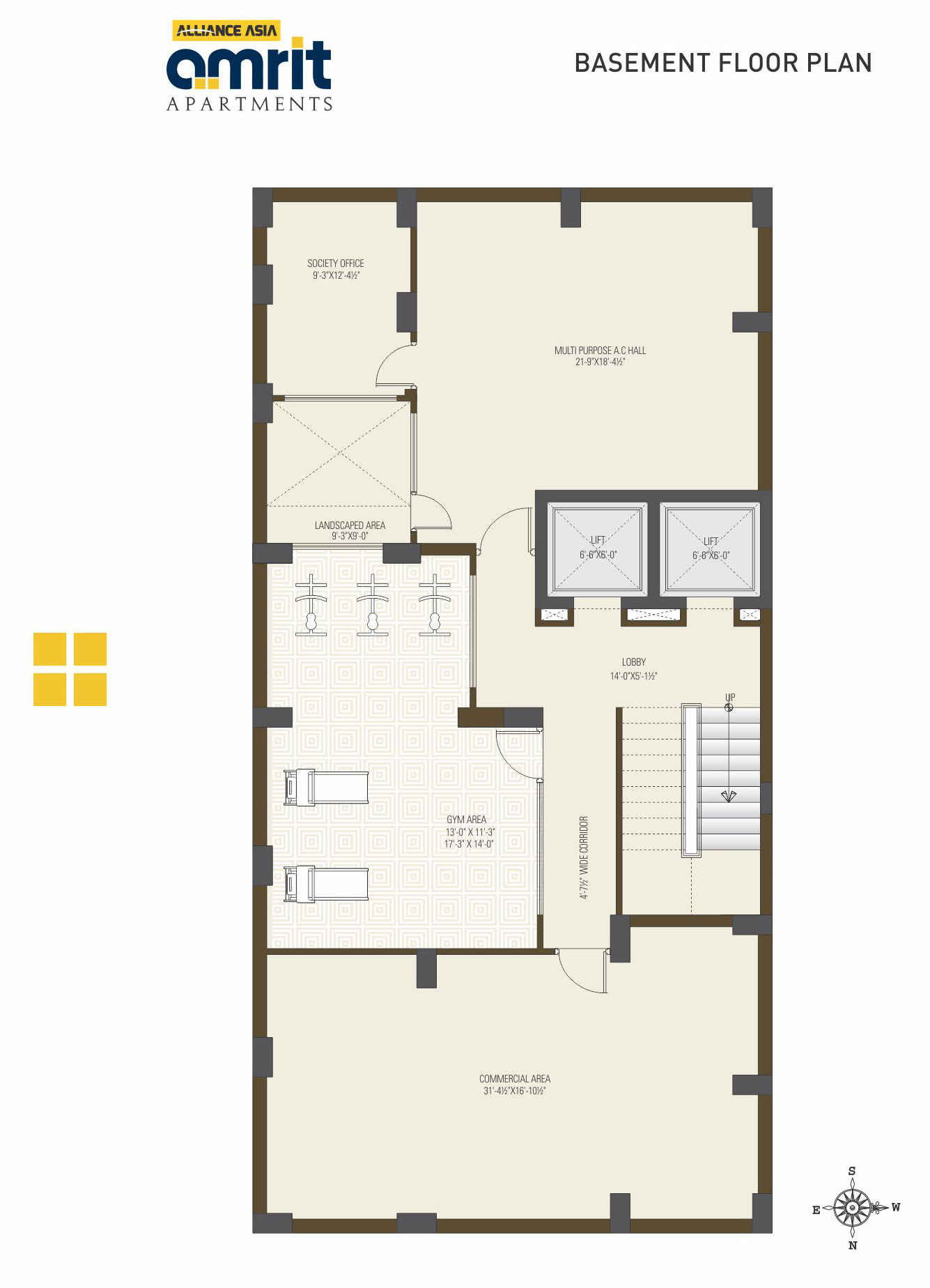 Alliance asia for Basement apartment floor plans